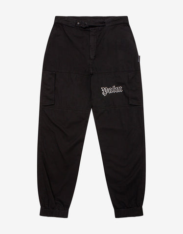 Black Logo Band Swim Shorts