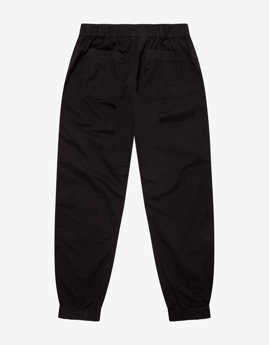 Black Logo Cargo Pants