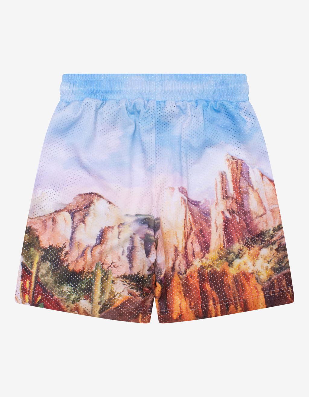 Blue Canyon Mesh Shorts