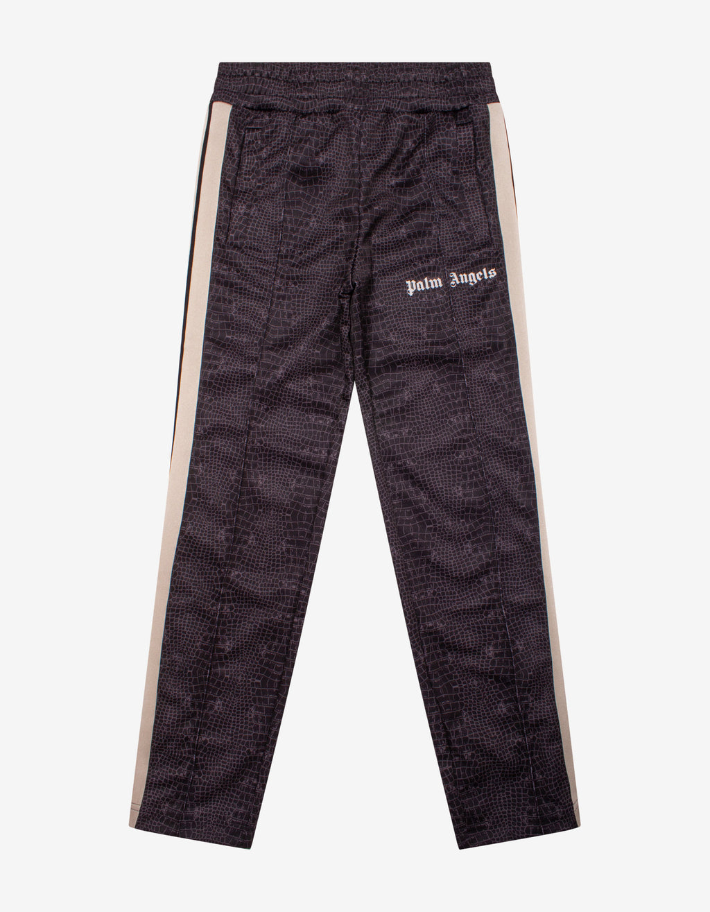 Crocodile Print Track Pants