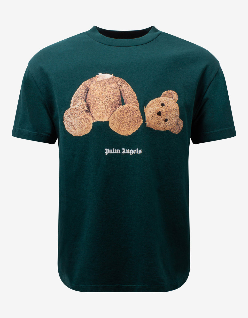 Green Bear Print T-Shirt