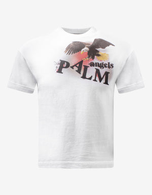 White Eagle Graphic Print T-Shirt