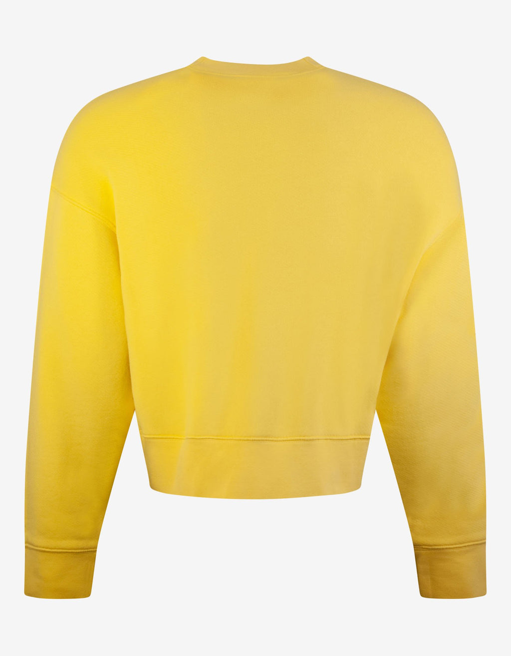 Yellow World In Hands Oversized Sweatshirt -