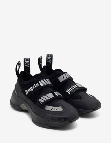 Palm Angels All-Black Recovery Trainers