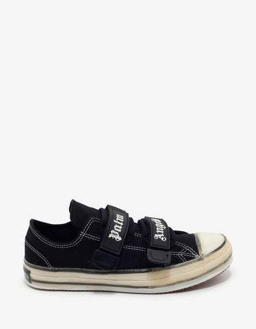 Palm Angels Black Velcro Vulcanized Trainers