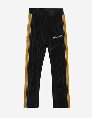 Black Barocco Insert Sweat Pants