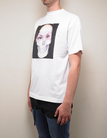 Palm Angels White MJ T-Shirt