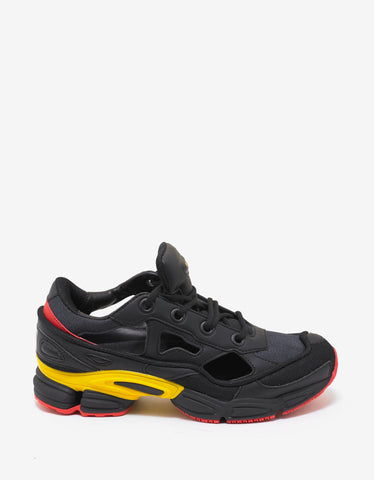 Adidas x Raf Simons Replicant Ozweego Black, Yellow & Red Trainers