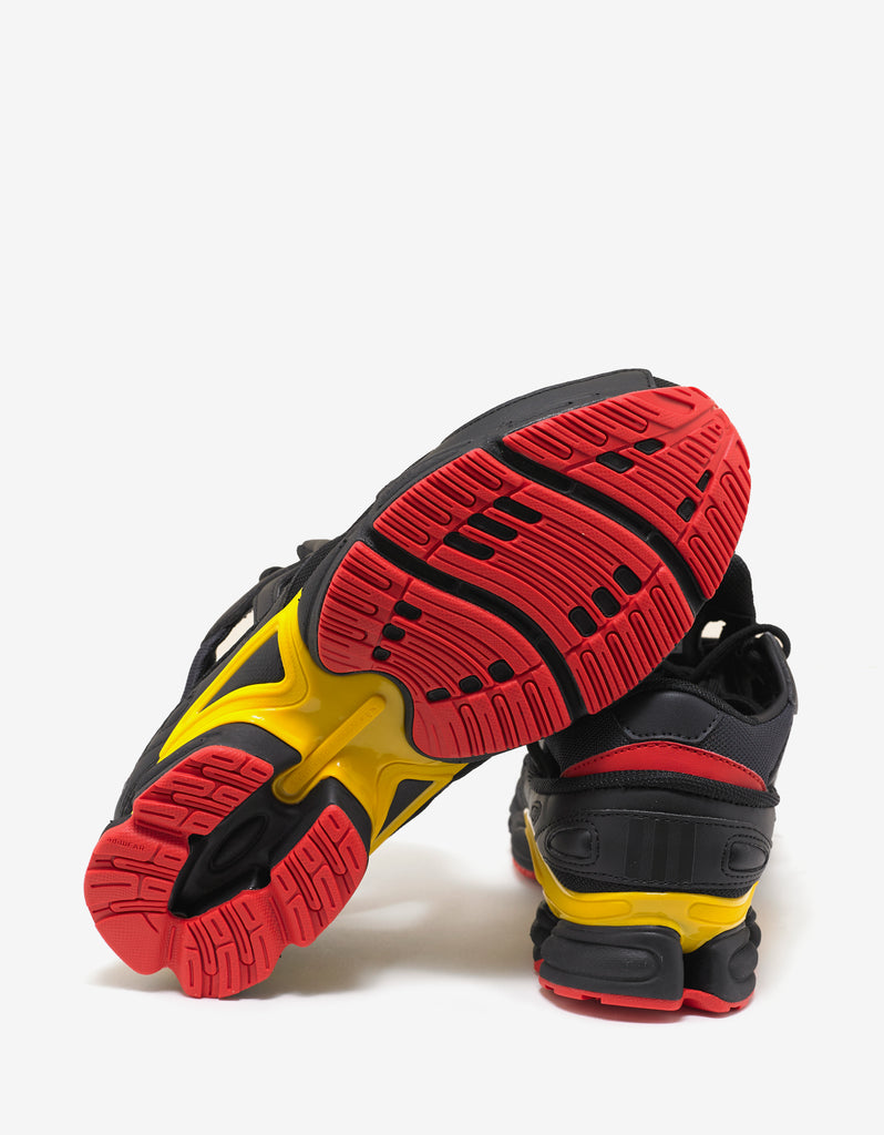 Replicant Ozweego Black, Yellow & Red Trainers