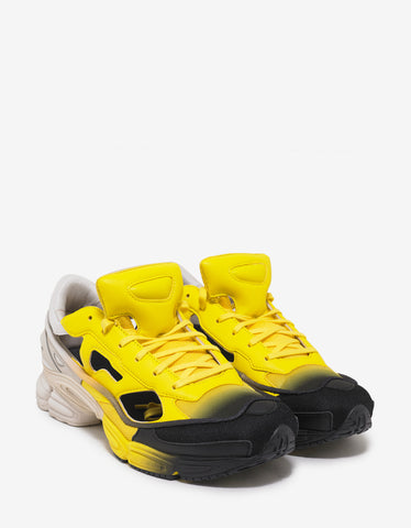 Adidas x Raf Simons Replicant Ozweego Yellow & Brown Trainers