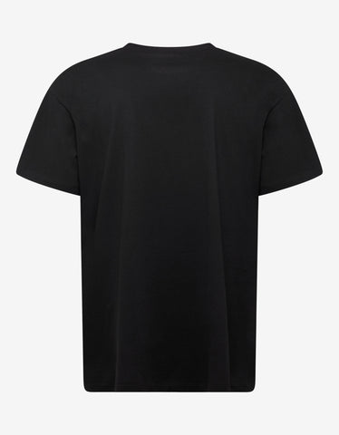 Raf Simons Black Big Fit T-Shirt with 6 Pictures