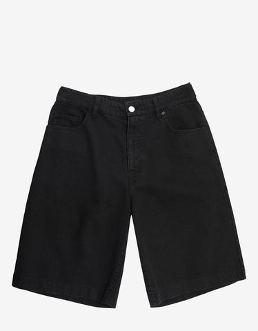 Black Logo Sweat Shorts