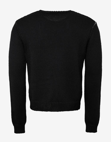 Black NY Jacquard Sweater