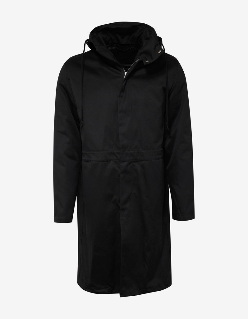 Black Parka with Inside Jacket