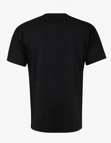 Raf Simons Black Taxi Print Regular Fit T-Shirt