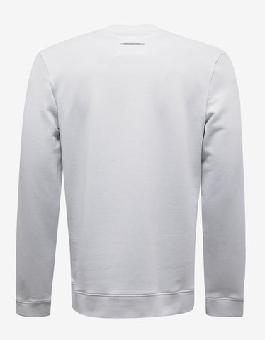 Raf Simons White Patti Smith Print Sweatshirt