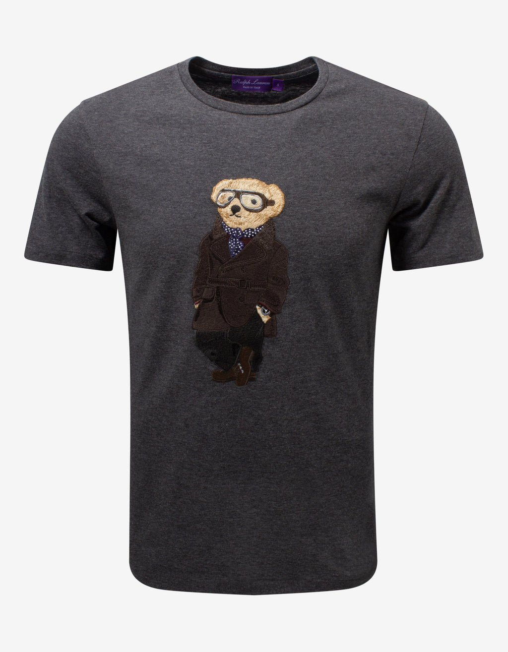 Grey Aviation Bear T-Shirt