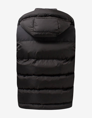 Garston Black Down Gilet