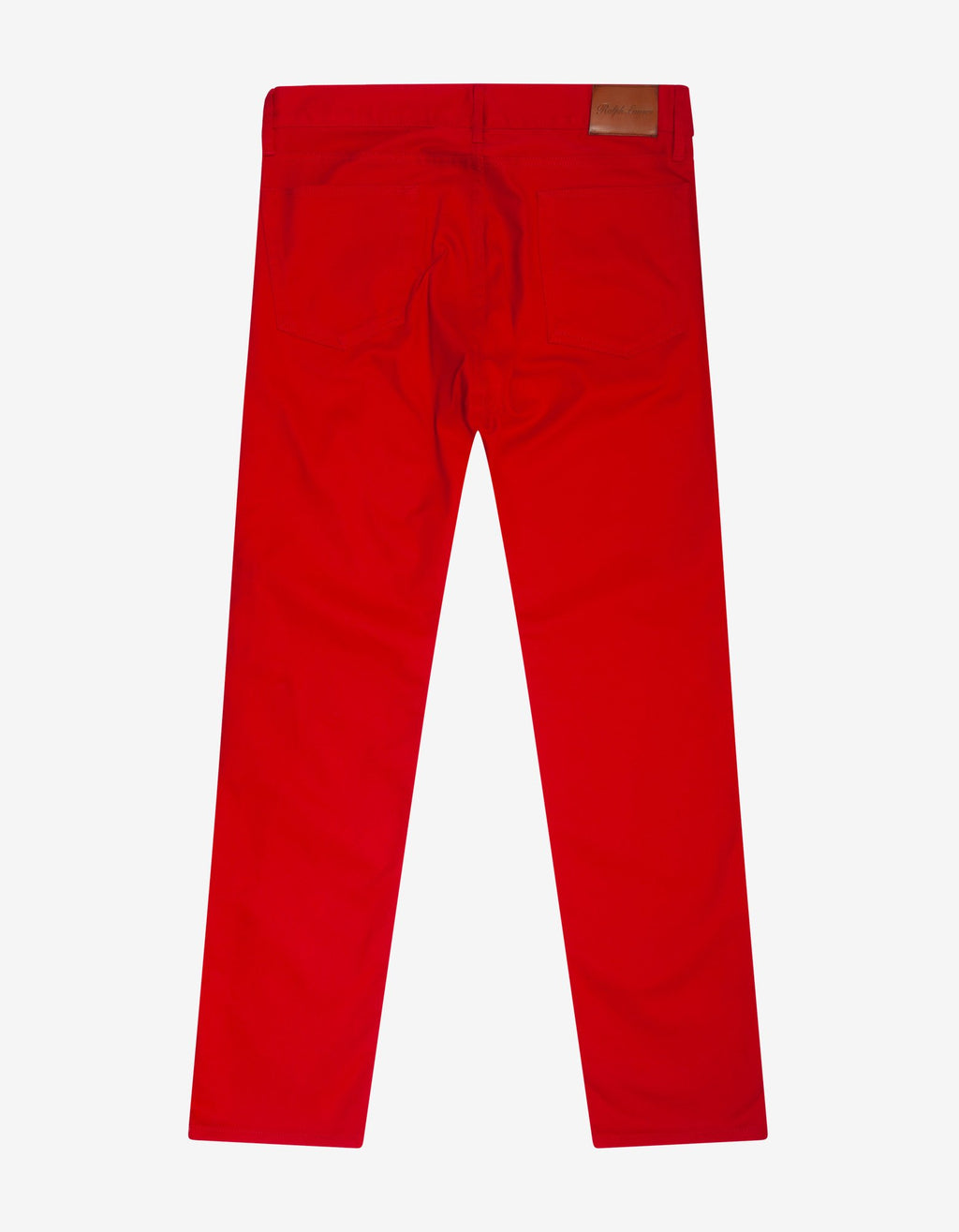 Red Slim Fit Jeans -