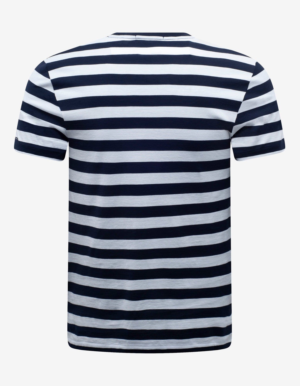 Blue & White Striped T-Shirt -