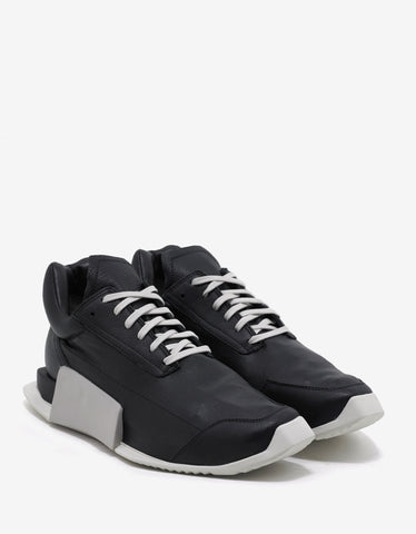 Adidas x Rick Owens RO Level Runner Low Black Trainers