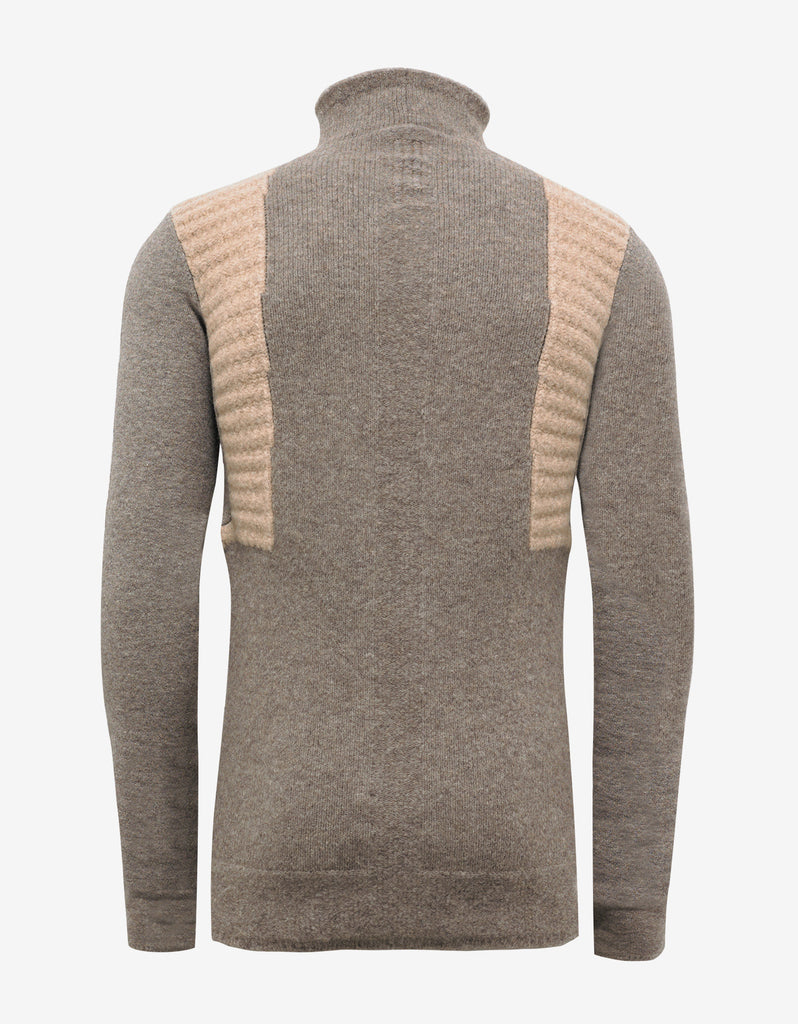DNA Dust Wool Blend Funnel Neck Sweater
