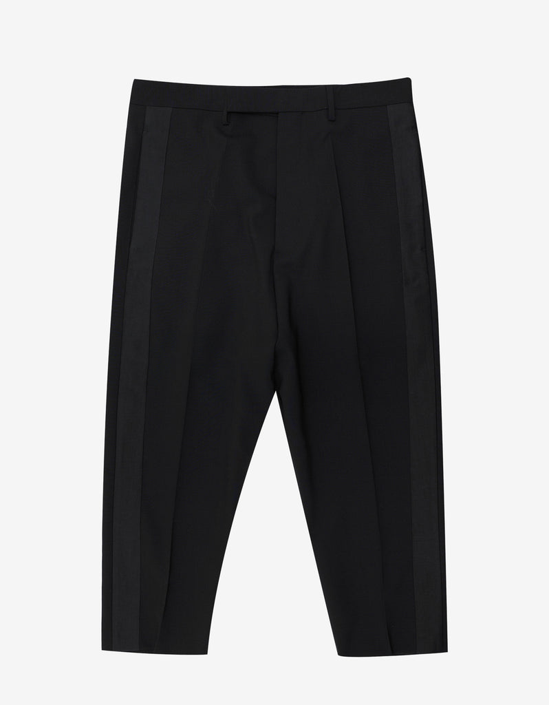 Black Tux Cropped Astaires Trousers