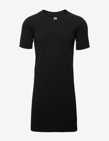 Rick Owens Black Double Layer T-Shirt
