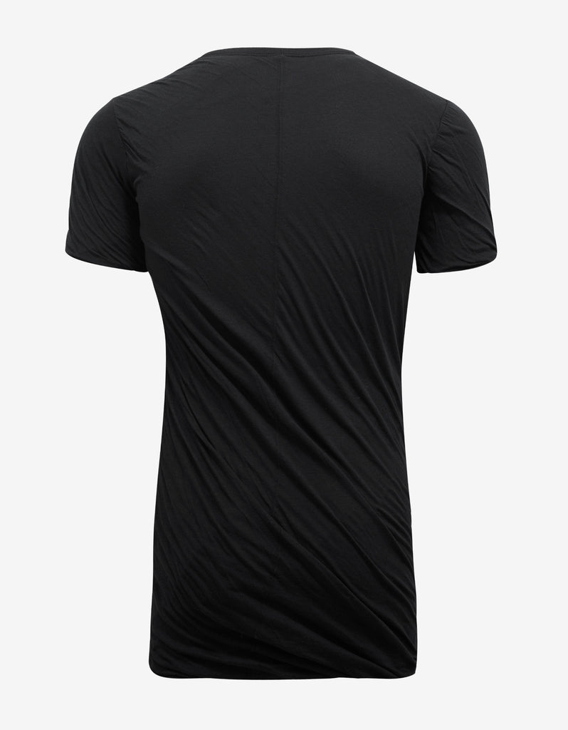 Black Double Short Sleeve T-Shirt