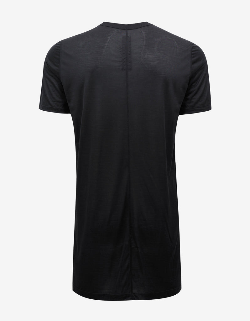 Black Silk T-Shirt