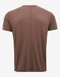 Throat Burgundy Silk Blend T-Shirt