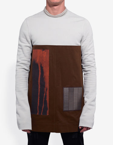 Rick Owens Dinge White Emotionless Sweatshirt