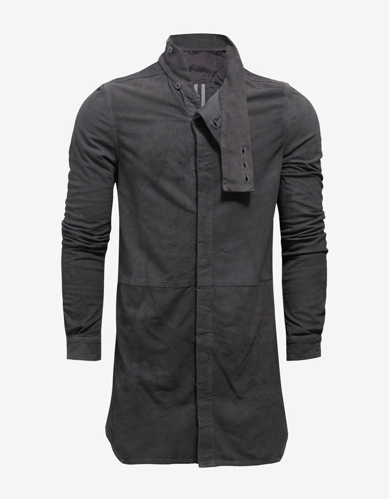 Dark Dust Grey Leather Island Shirt