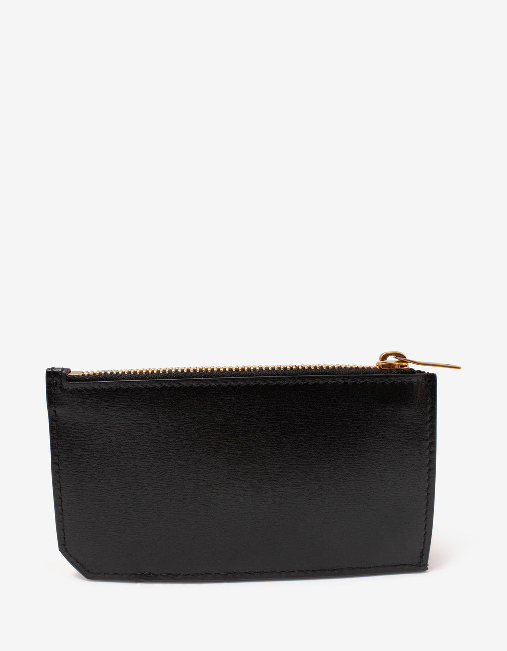 Black Monogram Long Card Holder