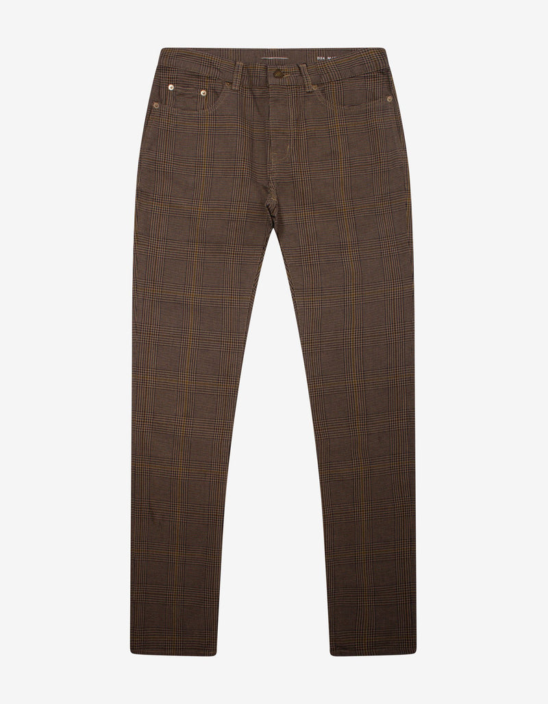 Prince Of Wales Check Skinny Jeans -