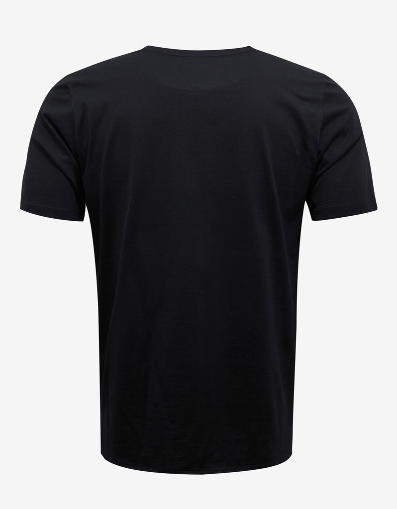Black Square Logo Print T-Shirt