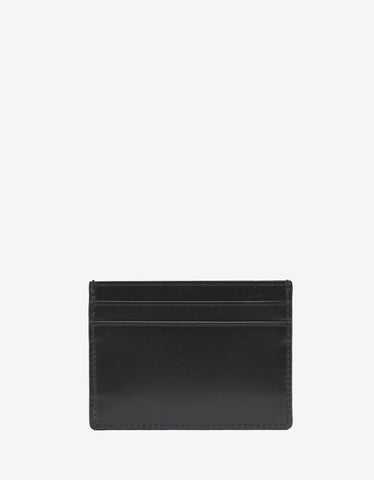Saint Laurent Black Logo Monogram Card Holder
