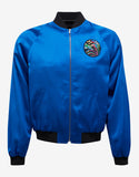 Blue Satin 'Sweet Dreams' Teddy Jacket