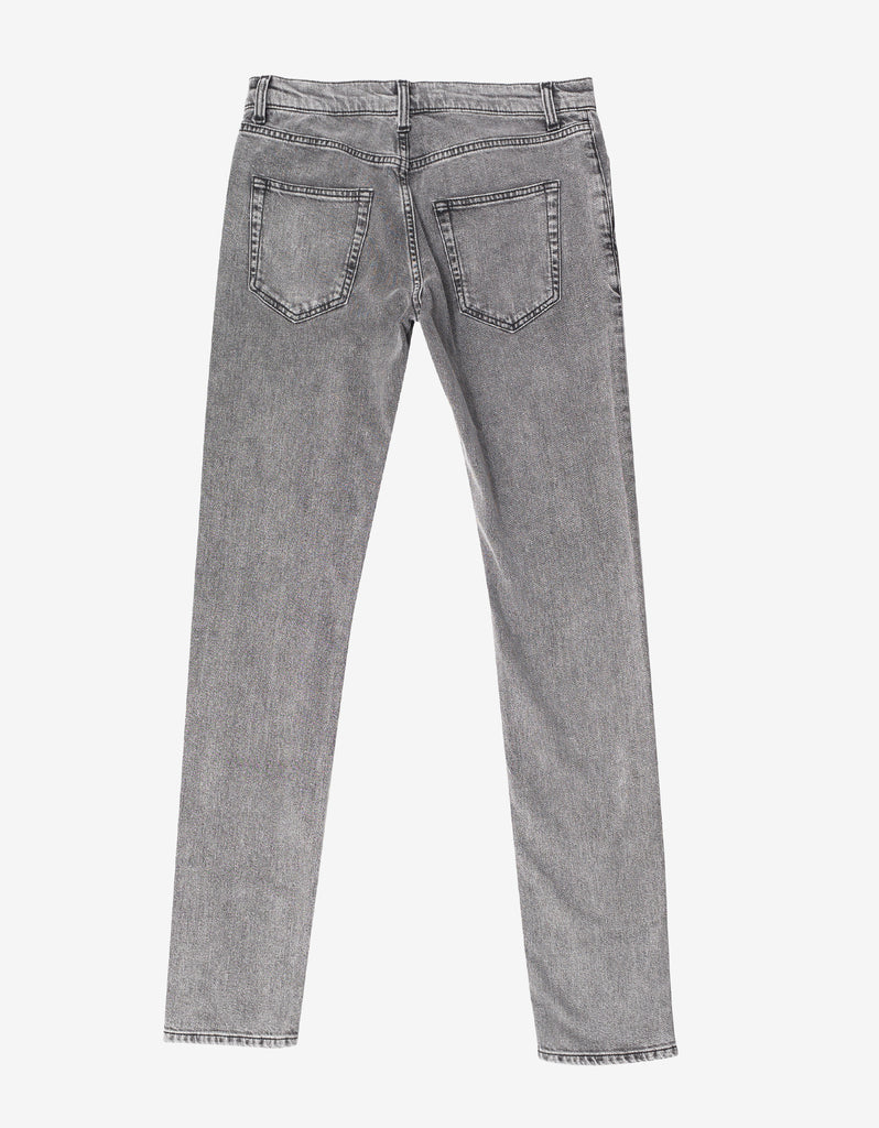 Grey D02 Skinny Denim Jeans