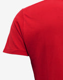 Red Blood Luster Print T-Shirt