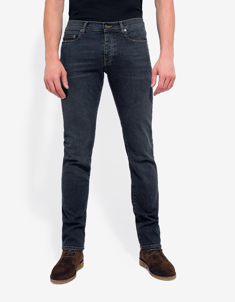 Wash Blue D01 Slim Denim Jeans