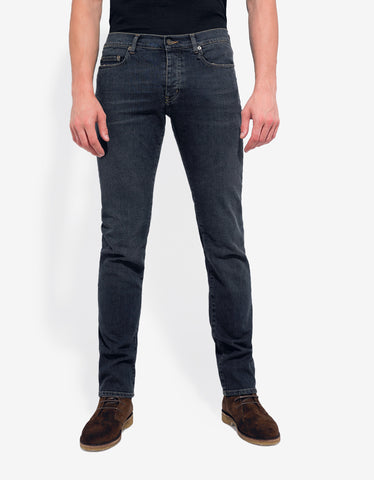 Saint Laurent Wash Blue D01 Slim Denim Jeans