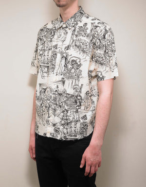 Off-White Mexican Party Print Shirt
