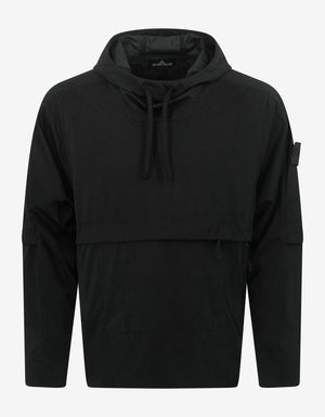 Light Nylon-R Black Anorak