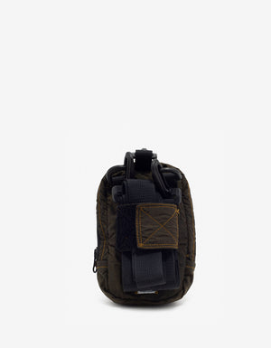Military Green Nylon Shoulder Bag