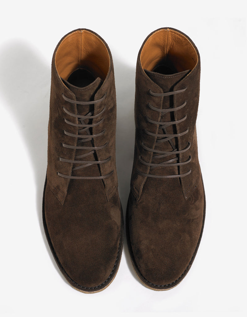 Nevada 20MM Brown Suede Boots