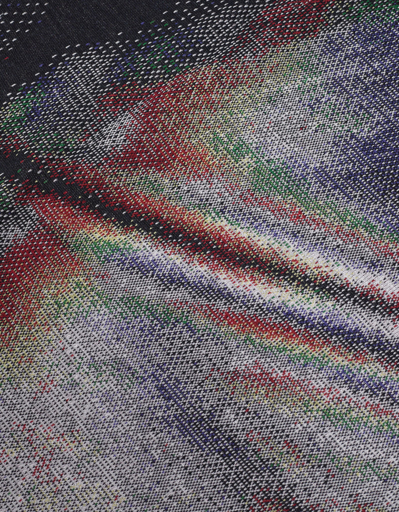 Multicolour Jacquard Wool Scarf