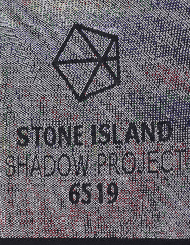 Stone Island Shadow Project Multicolour Jacquard Wool Scarf