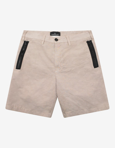 Black VLTN Tag Swim Shorts