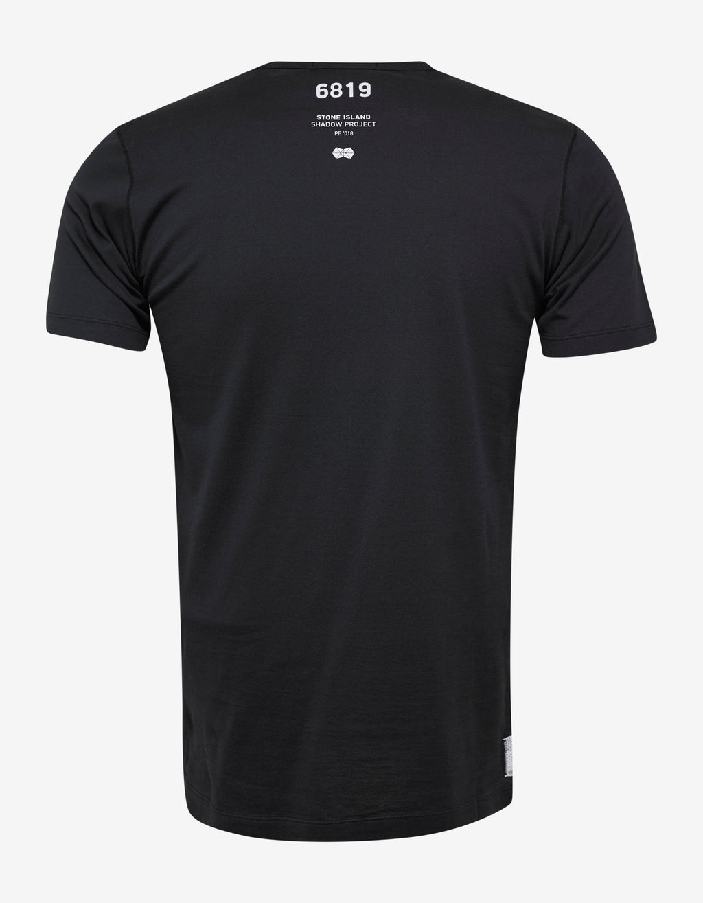 Black Chest Pocket Graphic T-Shirt